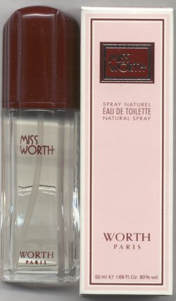Miss Worth Eau de Toilette Spray 50ml/Worth, Paris