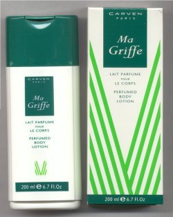 MaGriffe Perfumed Body Lotion/Carven, Paris