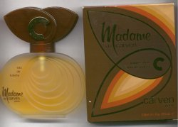 Madame de Carven Eau de Toilette Spray 100ml/Carven, Paris