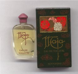 Maja Eau de Toilette 7ml Miniature Clear Bottle/Myrurgia, Spain