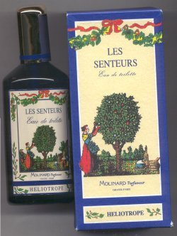 Les Sentures Heliotrope Eau de Toilette Spray 120ml/Molinard, Paris