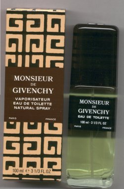 Monsieur Givenchy Eau de Toilette Spray 100ml/Givenchy