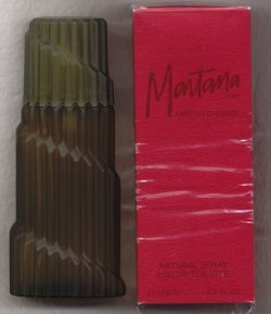 Montana Homme RED for Men Eau de Toilette Spray 125ml/Claude Montana