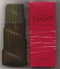 Montana Parfum D'Homme Red Box for Men Eau de Toilette Spray 125ml/Claude Montana
