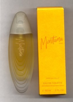 Montana Eau de Toilette Spray 60ml Yellow Box /Claude Montana