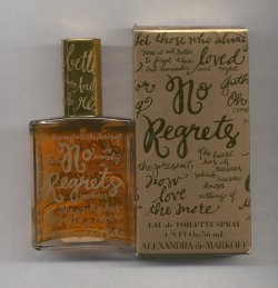 No Regrets Eau de Toilette Spray 56ml/Alexandra  deMarkoff