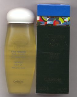 Nocturnes Perfumed Body Oil 125ml/Caron