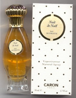 Nuit de Noel Eau de Toilette Spray 50ml/Caron, Paris