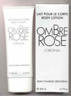 Ombre Rose Perfumed Body Lotion 200ml/Jean-Charles Brosseau