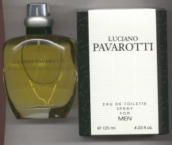 Pavarotti for Men Eau de Toilette Spray/Luciano Pavarotti Parfums, Italy
