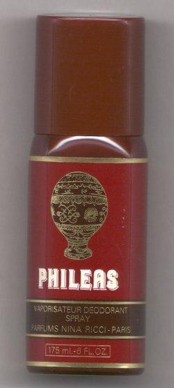 Phileas for Men Deodorant Spray 175ml/Nina Ricci, Paris