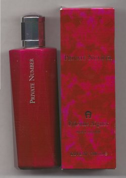 Private Number for Women Perfumed Body Lotion 200ml/Etienne Aigner