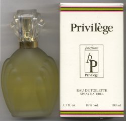 Privilege Eau de Toilette Spray 100ml/Parfum Privilege