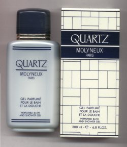 Quartz Perfumed Bath & Shower Gel 200ml/Molyneux, Paris