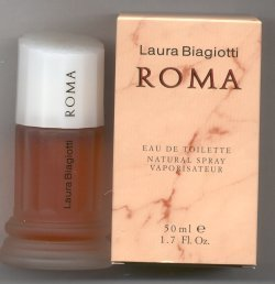Roma Eau de Toilette Splash 50ml/Laura Biagiotti