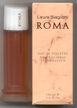 Roma Eau de Toilette Spray 100ml/Laura Biagiotti