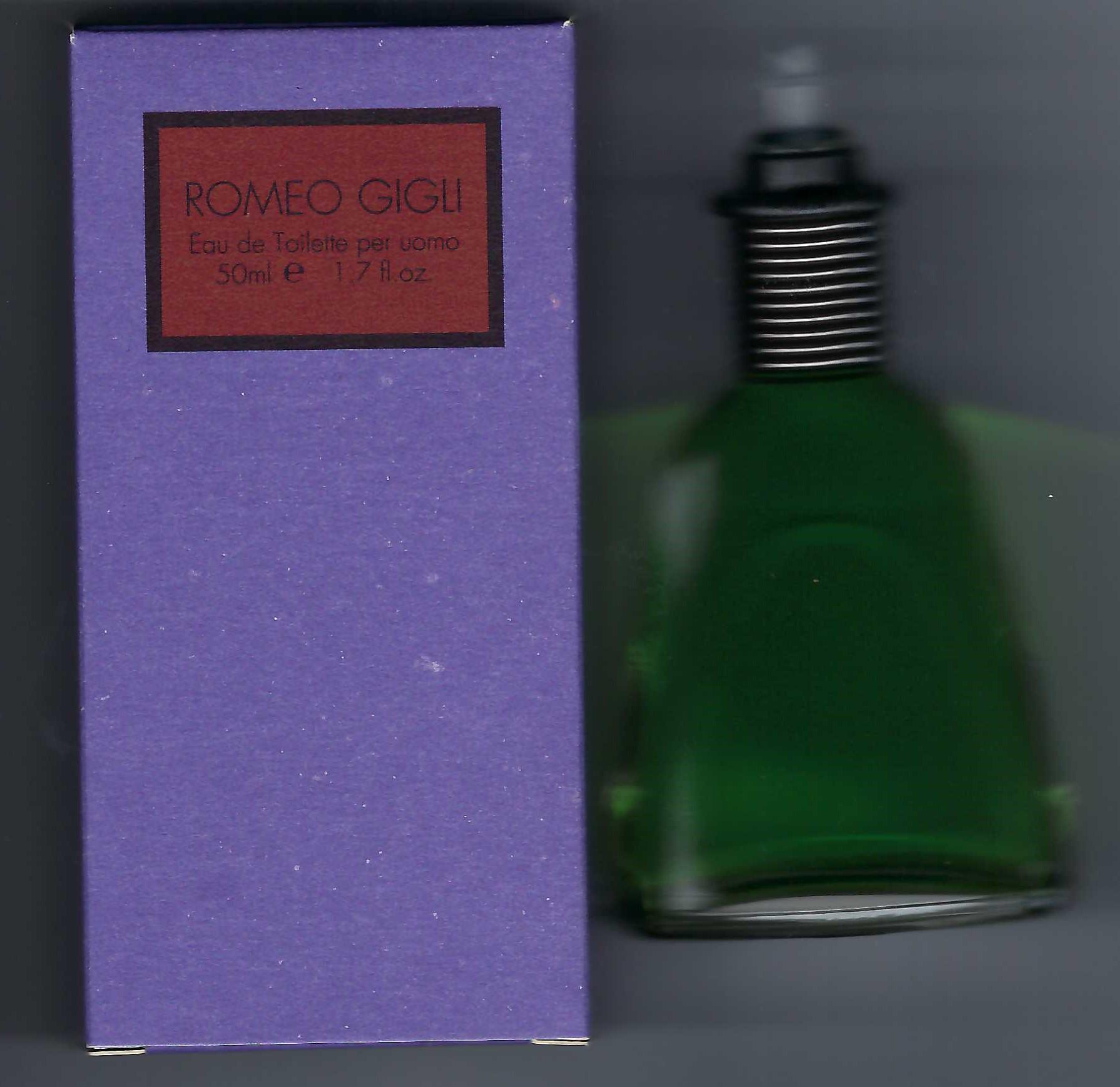 Romeo Gigli for Men Eau de Toilette Splash 50ml/Proteo S.p.A Made in Italy