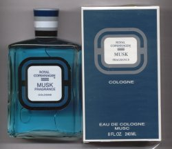 Royal Copenhagen Musk Cologne Splash 240ml/Royal Copenhagen