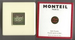 Royal Secret Original Perfumed Bath Powder/Germaine Monteil, Paris