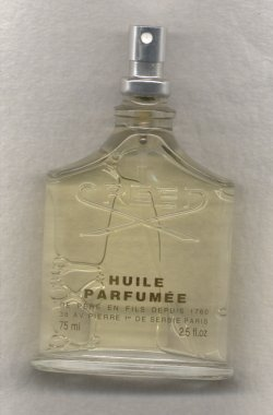 Silver Mountain Water Huile Parfumee Spray 75ml Tester Clear Bottle/Creed