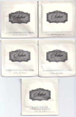 Safari for Woman Small Packet Samples 5ml/Ralph Lauren