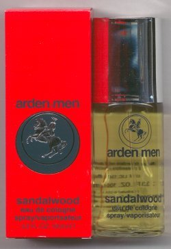 Arden Men Sandalwood Eau de Cologne Spray 100ml/Elizabeth Arden
