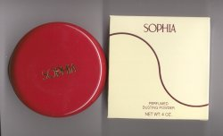Sophia Perfumed Dusting Powder/Coty