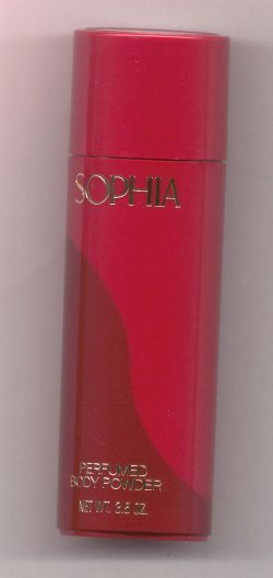 Sophia Perfumed Body Powder/Coty, Pfizer Inc.