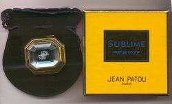 Sublime Deluxe Parfum Solide/Jean Patou