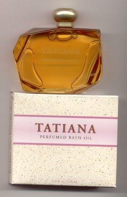 Tatiana Perfumed Bath Oil 120ml/Diane Von Furstenberg