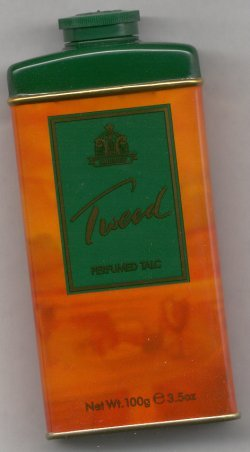 Tweed Perfumed Talc Powder/Yardley of London formerly Lentheric