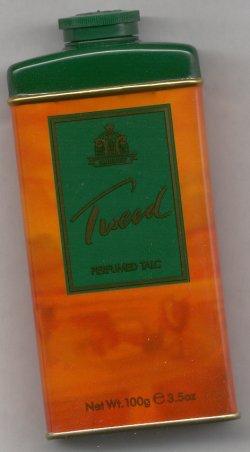 Tweed Perfumed Talc Powder/Yardley of London formerly Lentheric
