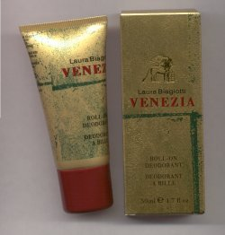 Venezia Perfumed Roll-on Deodorant 50ml/Laura Biagiotti