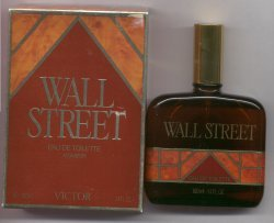 Wall Street Eau de Toilette Spray 100ml Unboxed/Victor