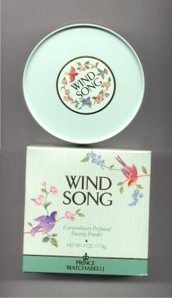 Wind Song Perfumed Dusting Powder/Prince Matchabelli