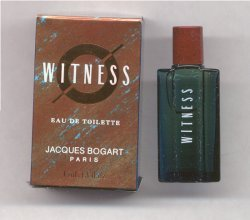 Witness Eau de Toilette 4ml Miniature/Jacques Bogart