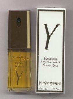 Y Parfum de Toilette Spray 75ml/Yves Saint Laurent, YSL
