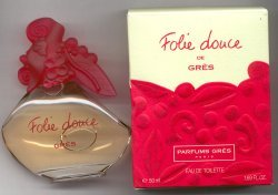 Folie douce Eau de Toilette Spray 50ml/Gres, Paris