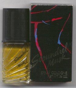 Scoundrel Musk Cologne Spray 1/2oz. Unboxed/Revlon