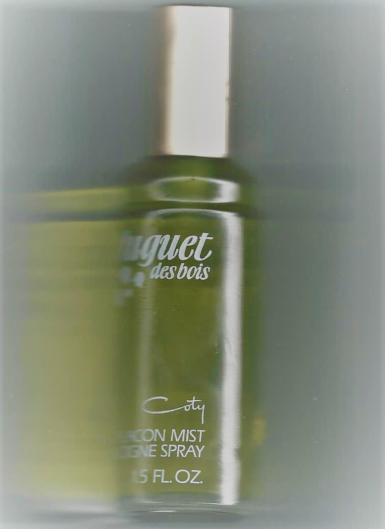 Muguet des Bois Vintage Bottle 1.5oz Cologne Spray/Coty & Pfizer Inc.